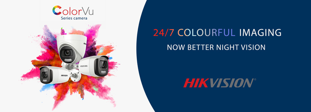 Buy Hikvision Colorvu series cameras UK