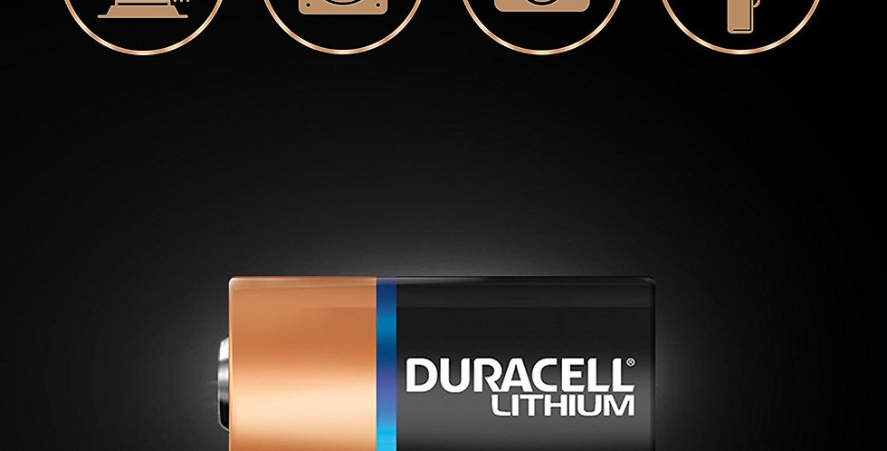 2x Duracell 3V Lithium CR2 Ultra Photo Battery DLCR2 for Digital Camera