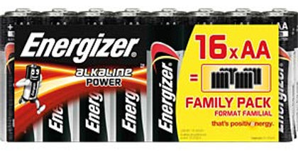 Energizer POWER AA (pack of 16)