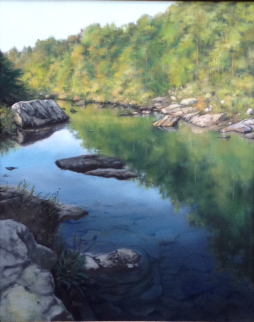 Landscape Painting - River