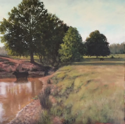 Landscape Painting by Lisa Thames