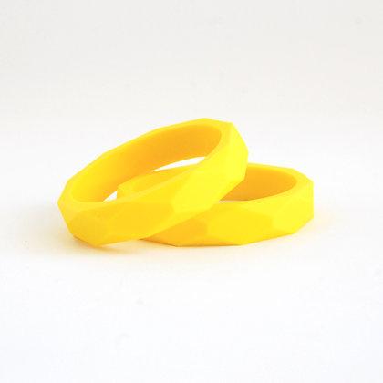 צמיד הנקה | צמיד נשכן - צהוב