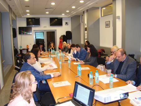 Представяне в Гражданския съвет към ВСС на Окончателния доклад по проект: Съдебната експертиза в Бъл
