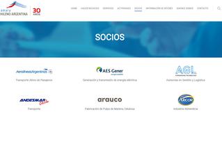 Membresía Camara Chileno Argentina de Comercio.