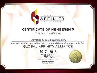 Certificado Global Affinity Alliance