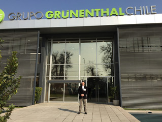 Visita a la nueva planta de Grünenthal Chile junto a CAMCHAL