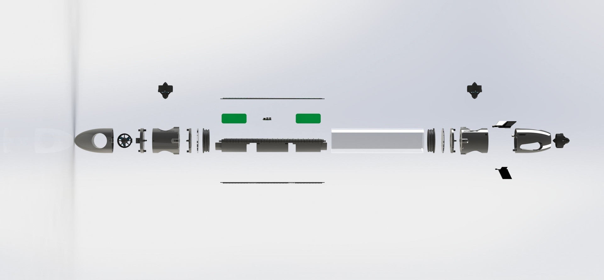 AUV Side View