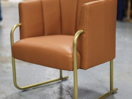 Queenie's Supper Club NOW OPEN, featuring our brass chair leg fabrication