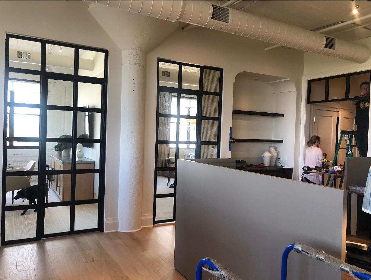 Industrial office doors