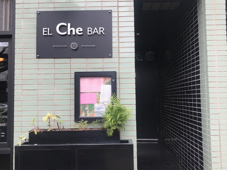 Outdoor Sign for El Che Bar