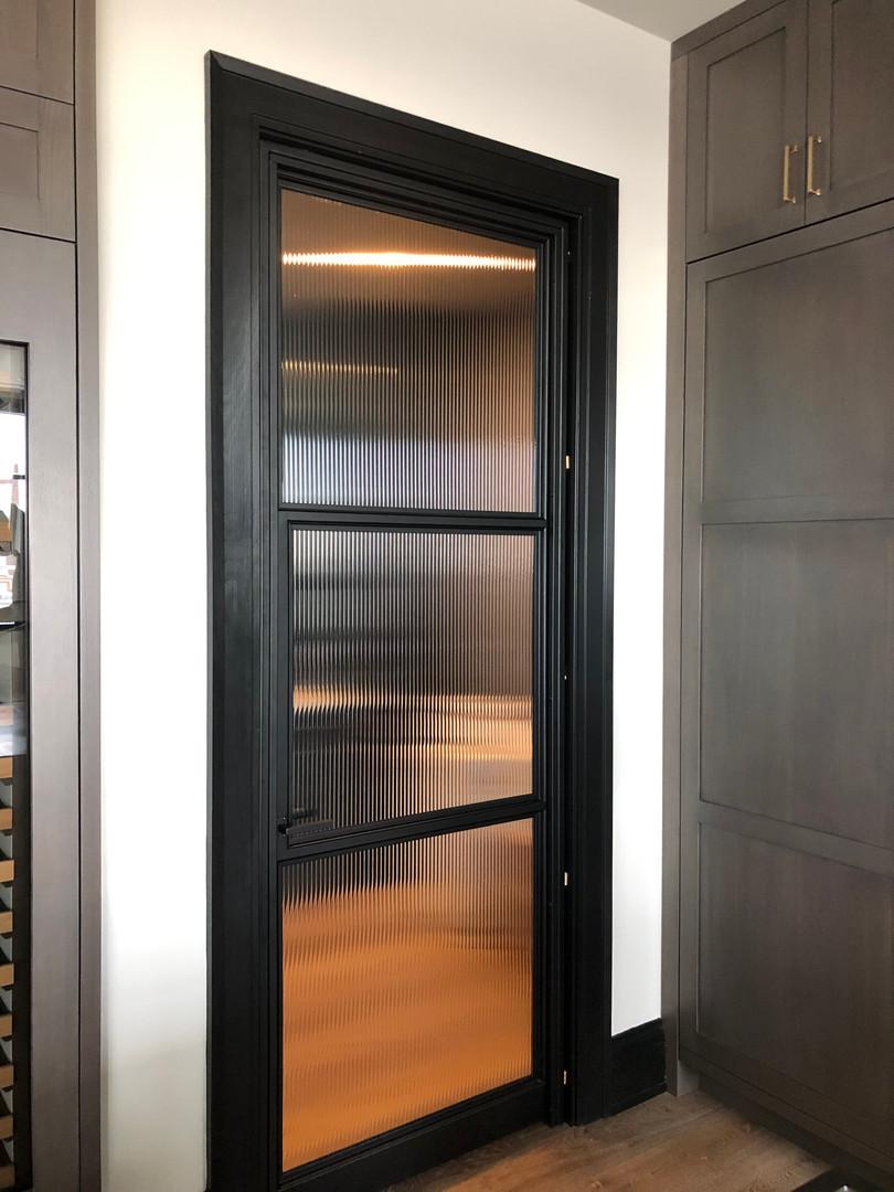 Modern residential door