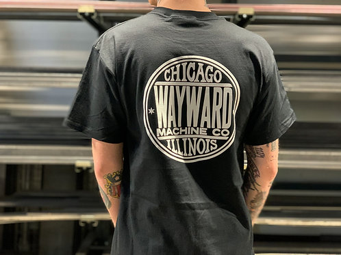 Wayward Original Logo Black T-Shirt