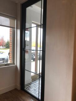 Modern office door