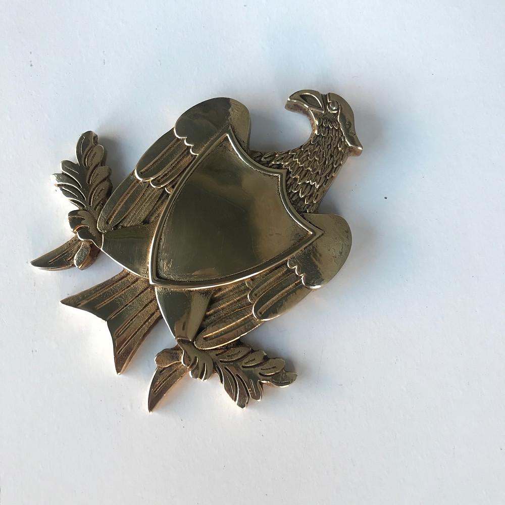 Brass eagle Wayward Machine Co