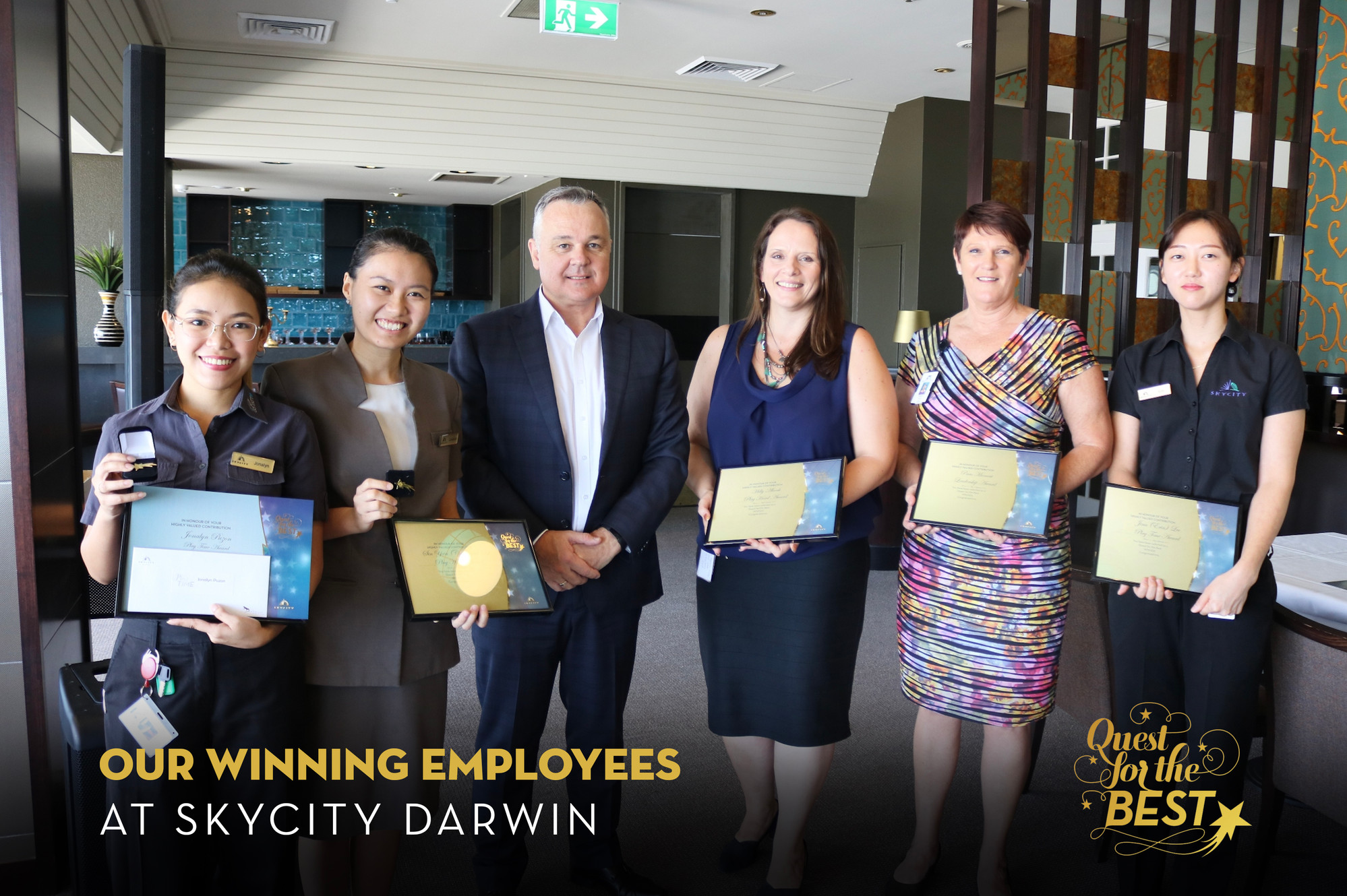 Congratulations To Our Latest Quest For The Best Winners At Skycity Darwin