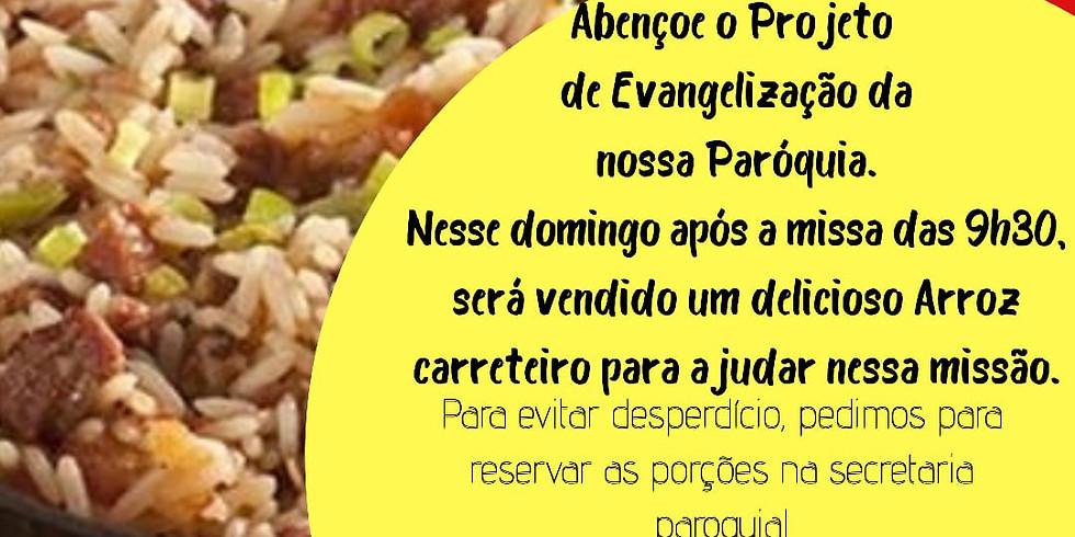 Arroz Carreteiro da Paróquia Jesus Bom Pastor