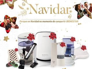 Termina tus compras de navidad con Bienestar y armonía.