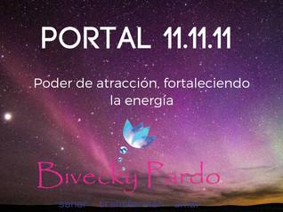 Portal energético 11.11 2018 Mensaje del mes