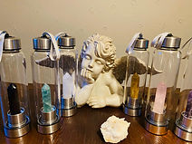 Botellas de cristal enegizado