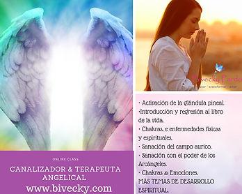 Curso Canalizador & Terapeuta Angelical