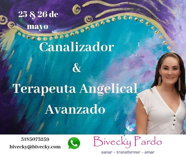 Canalizador & Terapeuta Angelical Avanza
