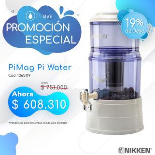 pi water Nikken Dia Sin IVA