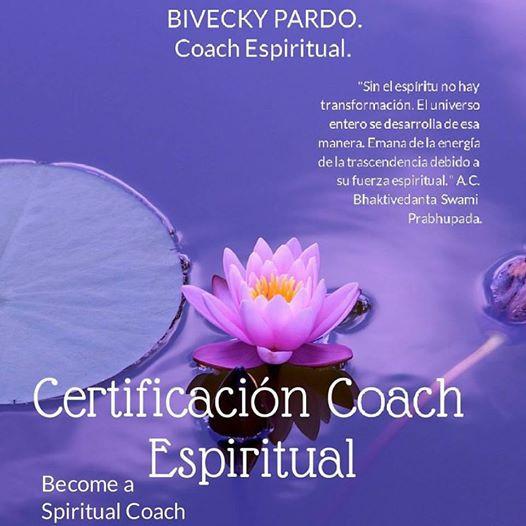 Agosto 2017, Certificación Espiritual con Bivecky Pardo.