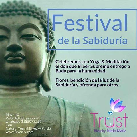 Festival de la Sabiduría, Luna llena, armonía, alineación con Bivecky Pardo
