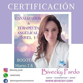 Certificación Curso Sanación Ángeles, Ca