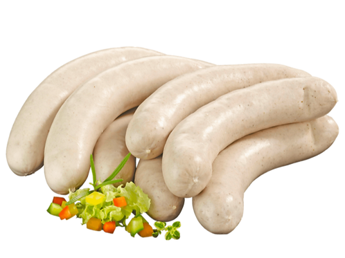 Feine Bratwurst gebrüht 2 x 2 Stück