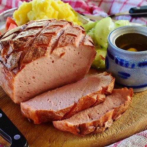 Bayerischer Leberkäse Fleischkäse 1 kg am Stück