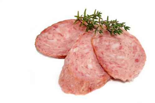 Delikatess Knoblauchwurst am Stück 1 Kg