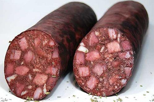 Blutwurst Rotwurst Thüringer Art am Stück 1 Kg