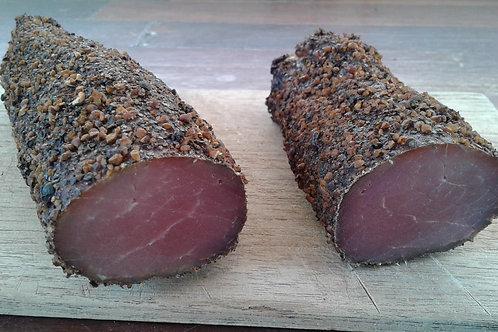 Schweinelende geräuchert mit Pfefferkruste ca. 500gr