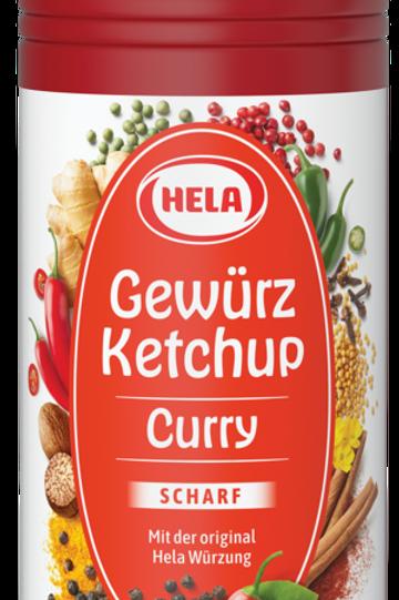 Hela Gewürz Ketchup Curry scharf 300 ml