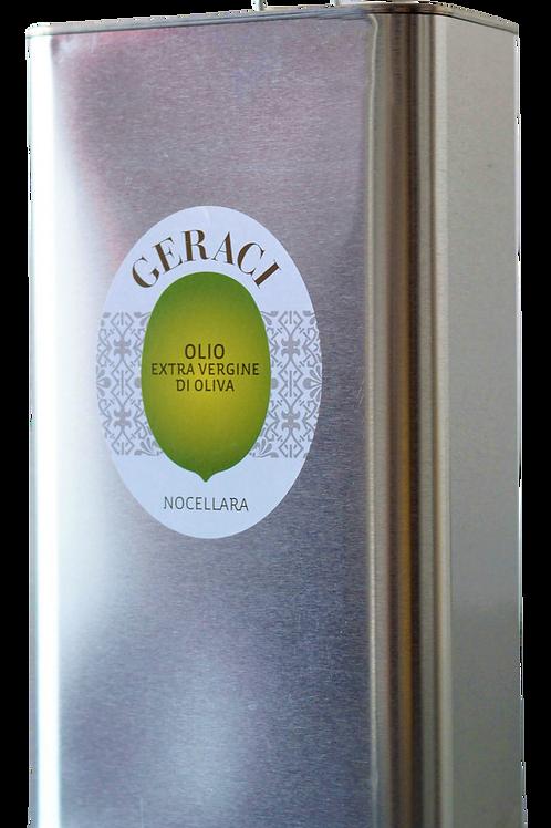 Geraci Extra virgin olive oil  Olivenöl Sizilien 3 Liter