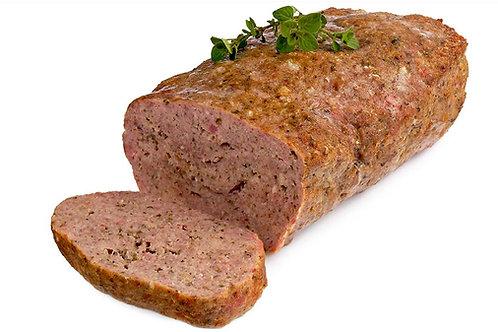 Hackbraten Rindfleisch/Schweinefleisch 1 Kg in Scheiben