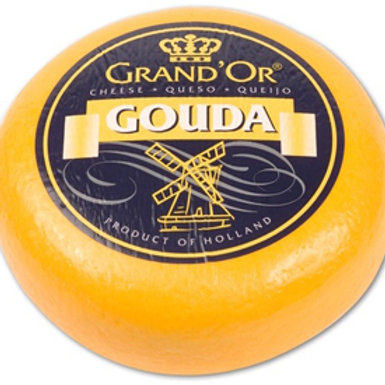 Grand'Or Gouda mild young ca. 4,3 Kg wheel