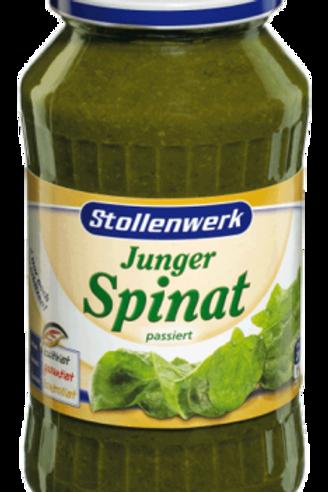 Stollenwerk Junger Spinat passiert 12x650gr