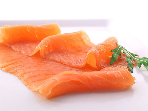 Superior Norwegian Smoked Salmon Sliced 5 x 100gr