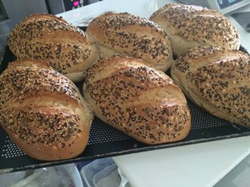 Mehrkornbrot malzig Multigrain Bread 2 Stück