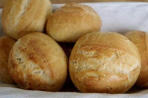 Tafelbrötchen Weizenbrötchen 20 Stück x 60gr
