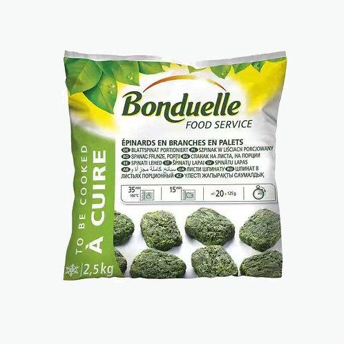 Bonduelle Leaf Spinach Spinat portioniert 2,5 kg