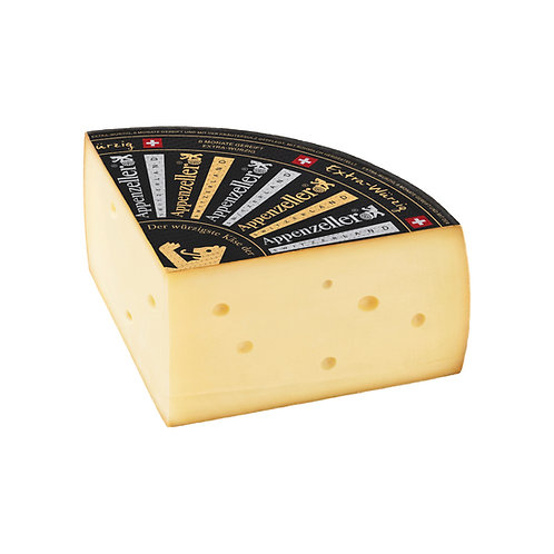 Emmi Appenzeller Käse Cheese Extra Noir ca. 1,5 Kg