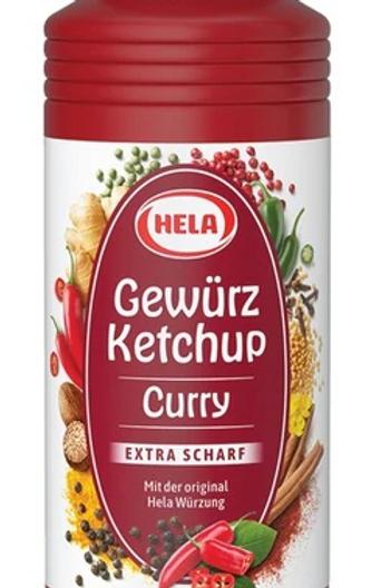 Hela Gewürz Ketchup Curry Extra scharf 300 ml