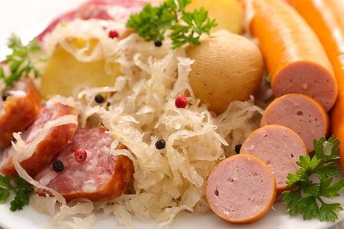 Choucroute Sauerkraut Eintopf mit viel Einlage 2 x 400gr