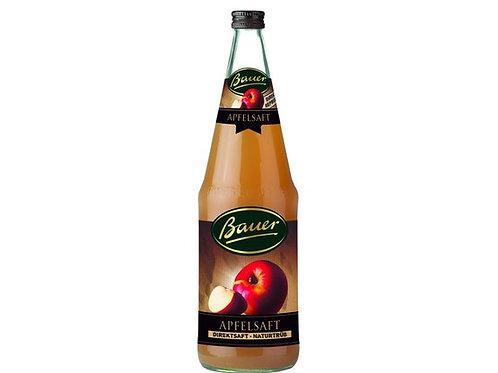 Bauer Apfelsaft Direktsaft naturtrueb Apple juice 1 Liter from Germany