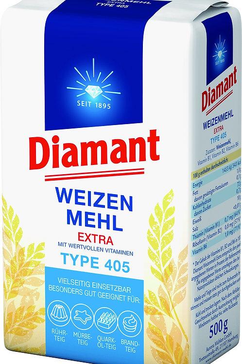 Diamant Weizenmehl Typ 405  500gr