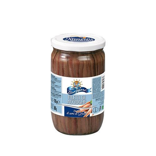 Alimentis Sardellenfilets Anchovy Fillet 700gr
