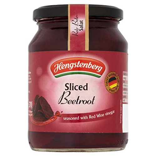 Hengstenberg Rote Bete Sliced Red Beets 2 x 370ml